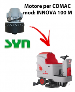INNOVA 100 M Motore de aspiración SYN para fregadora Comac