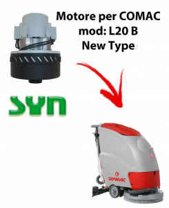 L20 B New Type Motore de aspiración SYN para fregadora Comac