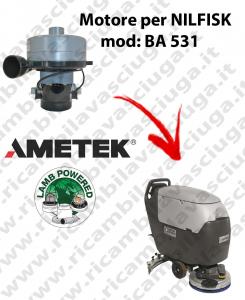 BA 531 Motore de aspiración LAMB AMETEK para fregadora NILFISK