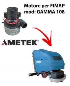 GAMMA 108 Motore de aspiración Ametek Italia  para fregadora FIMAP
