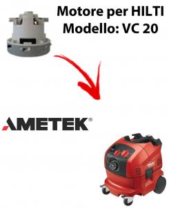 VC 20 automatic Motore de aspiración AMETEK para aspiradora HILTI