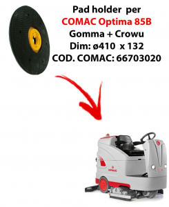 Discos de arrastre ( pad holder) para fregadora COMAC Optima 85B.