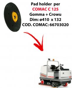 Discos de arrastre ( pad holder) para fregadora COMAC C 125.