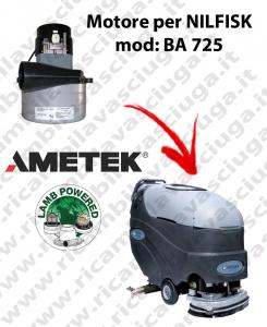 BA 725 Motore de aspiración LAMB AMETEK para fregadora NILFISK