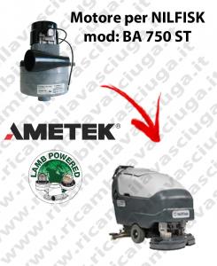 BA 750 ST Motore de aspiración LAMB AMETEK para fregadora NILFISK