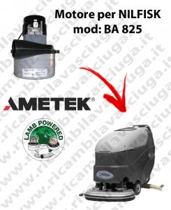 BA 825 Motore de aspiración LAMB AMETEK para fregadora NILFISK