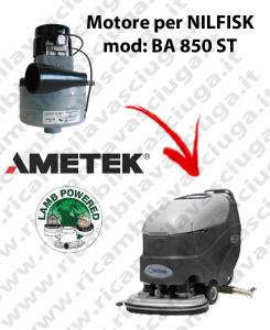 BA 850 ST Motore de aspiración LAMB AMETEK para fregadora NILFISK