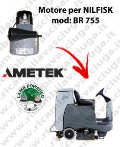 BR 755 Motores de aspiración LAMB AMETEK para fregadora NILFISK