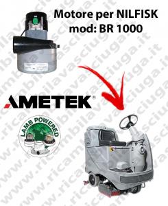 BR 1000 Motore de aspiración LAMB AMETEK para fregadora NILFISK