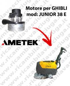 JUNIOR 38 y Motore de aspiración SYNCLEAN para fregadora GHIBLI