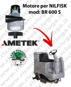 BR 600 S Motore de aspiración LAMB AMETEK para fregadora NILFISK