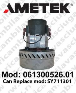 Motore de aspiración 061300526.01 AMETEK para fregadora y aspiradora. SOSTITUISCE  motore SY711301