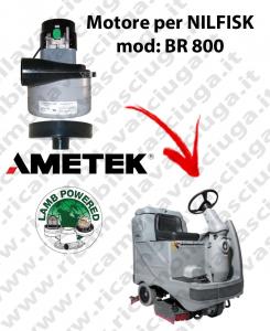 BR 800 Motores de aspiración LAMB AMETEK para fregadora NILFISK