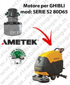 SERIE S2 80D70 Motore de aspiración LAMB AMETEK para fregadora GHIBLI