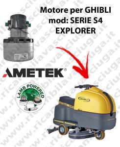 SERIE S4 EXPLORER Motore de aspiración LAMB AMETEK para fregadora GHIBLI