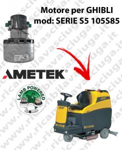 SERIE S5 115S85 Motores de aspiración LAMB AMETEK para fregadora GHIBLI