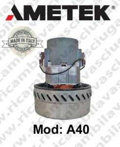 Motore de aspiración A40 AMETEK ITALIA para fregadora y aspiradora