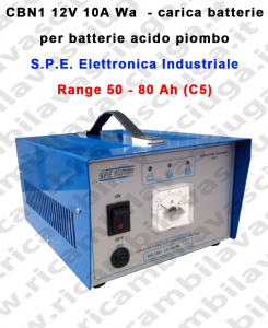 CBN1 12V 10A Wa carica batterie para batterie acido piombo S.P.E. Elettronica Industriale