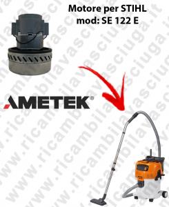 SE 122 y Motore de aspiración AMETEK  para aspiradora STIHL
