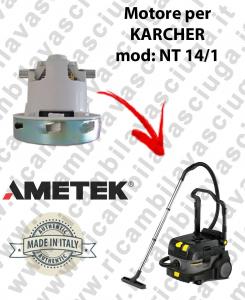 NT 14/1  Motore de aspiración AMETEK  para aspiradora KARCHER