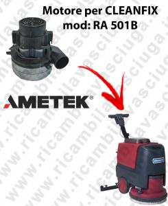 RA 501B Motore de aspiración Ametek Italia  para fregadora CLEANFIX