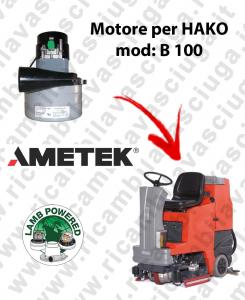 B 100 Motore de aspiración LAMB AMETEK para fregadora HAKO