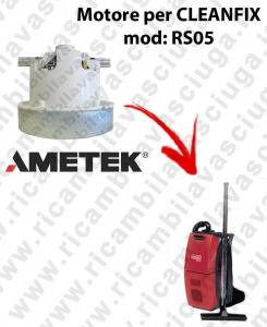 RS05 Motore de aspiración AMETEK para aspiradora CLEANFIX