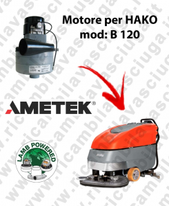 B 120 Motore de aspiración LAMB AMETEK para fregadora HAKO