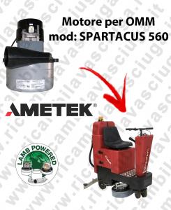 SPARTACUS 560 Motore de aspiración LAMB AMETEK para fregadora OMM