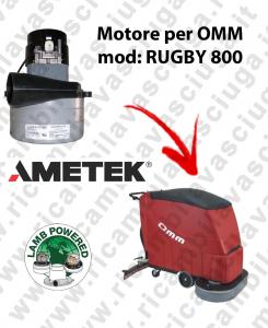 RUGBY 800 Motore de aspiración LAMB AMETEK para fregadora OMM