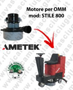 STILE 800 Motore de aspiración LAMB AMETEK para fregadora OMM