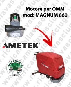 MAGNUM 860 Motore de aspiración LAMB AMETEK para fregadora OMM