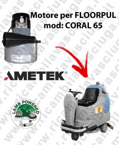 CORAL 65 Motores de aspiración LAMB AMETEK para fregadora FLOORPUL