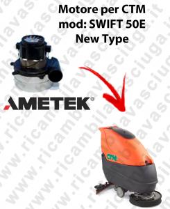 SWIFT 50 y  MOTORE SYNCLEAN di aspirazione para fregadora CTM