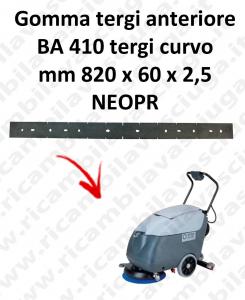 BA 410 gomas de secado delantera para escobilla de goma curvo Nilfisk