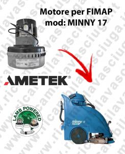 MINNY 17  Motore de aspiración Ametek para fregadora Fimap