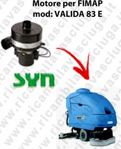 VALIDA 83 y MOTORE SYN aspirazione fregadoras Fimap