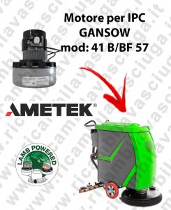 41 B/BF 57 Motore de aspiración LAMB AMETEK para fregadora IPC GANSOW