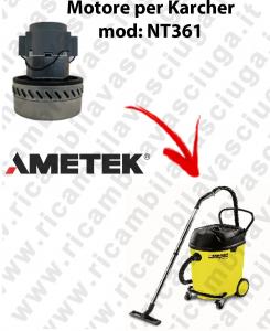 NT361 Motore de aspiración AMETEK  para aspiradora KARCHER