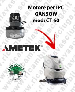 CT 60 Motore de aspiración LAMB AMETEK para fregadora IPC GANSOW