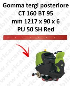 CT 160 BT 95 goma de secado trasero para escobilla de goma IPC