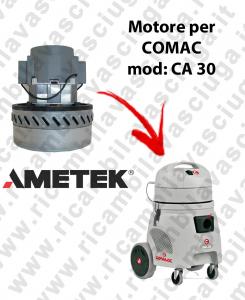 CA 30 Motore de aspiración AMETEK para aspiradora y aspiradora húmeda COMAC