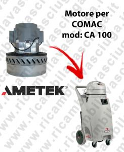 CA 100 Motore de aspiración AMETEK para aspiradora y aspiradora húmeda COMAC