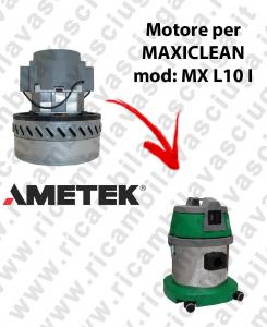 MX L 10 I Motore de aspiración AMETEK para aspiradora y aspiradora húmeda MAXICLEAN