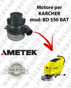 BD 550 BATT Motore de aspiración AMETEK para fregadora KARCHER