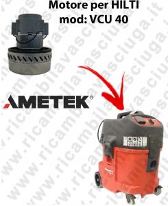 VCU 40 Motore de aspiraciónAMETEK para aspiradora y aspiradora húmeda HILTI