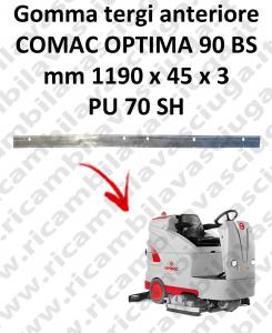 OPTIMA 90BS goma de secado delantera para escobilla de goma COMAC