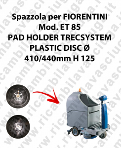 PAD HOLDER TRECSYSTEM  para fregadora FIORENTINI modelo ET 85