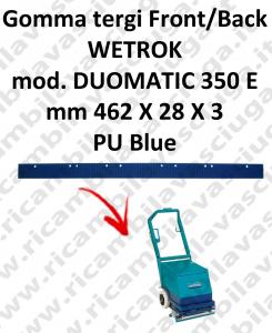 DUOMATIC 350 y goma de secado trasero delantera para WETROK