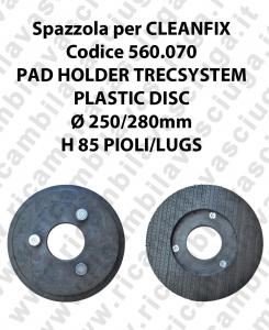 PAD HOLDER TRECSYSTEM  para fregadora CLEANFIX codice 560.070